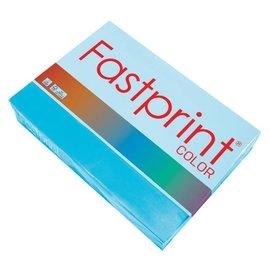 Fastprint Papier copieur Fastprint A4 120g bleu azur 250 feuilles