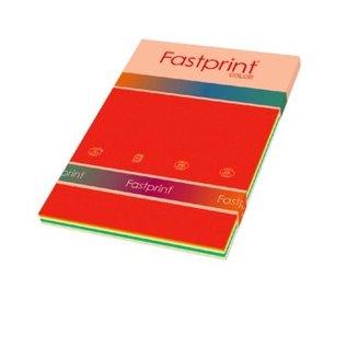 Fastprint Papier copieur Fastprint A4 120g 10couleurs x 10fls 100 fls