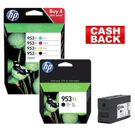 HP HP 953XL multipack & HP 953XL noir bundel pack