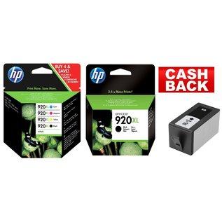HP HP 920XL multipack & HP 953XL noir