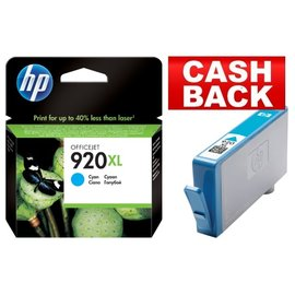 HP Inkcartridge HP cd972ae 920xl blauw hc