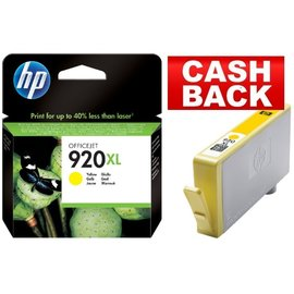 HP Inkcartridge HP cd974ae 920xl geel hc