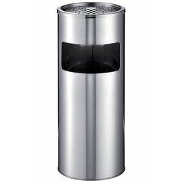 Durable Poubelle-cendrier Durable 3373-23 rond inox