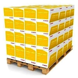 Canon Demi-palette papier copieur Canon Yellow Label A4 80g blanc