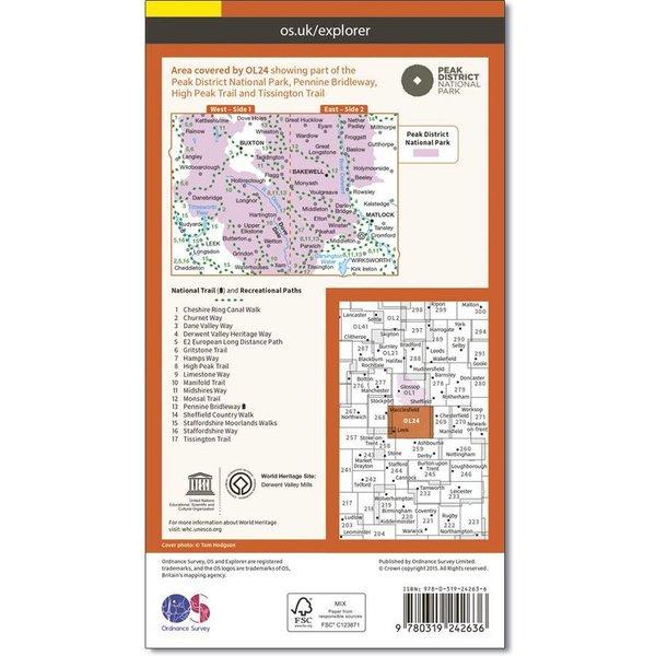 OL24 Map (Laminated)