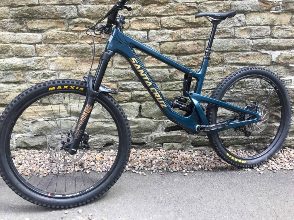 04b45e6e7d2 Blog - Ex demo - 2018 Santa Cruz Nomad - 18 Bikes Ltd