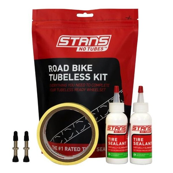 Stans NoTubes Stans Tubeless Kit (Tape, Valves, Sealant)
