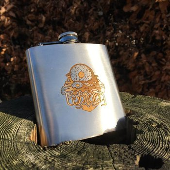 18 Bikes 18 Bikes Headbadge Hip Flask