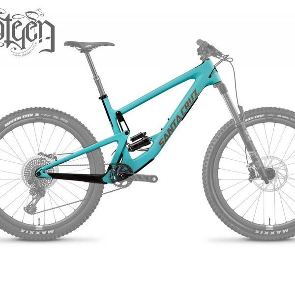 Santa Cruz 2019 Santa Cruz Bronson Carbon CC Frame