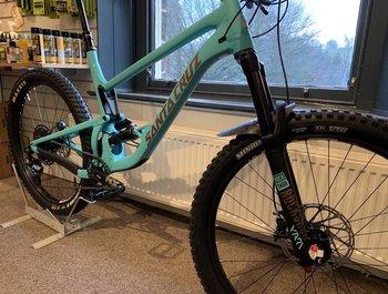 New bike - Bronson Aluminium