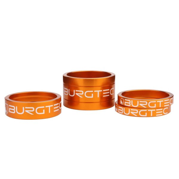Burgtec Burgtec Headset spacer kit (1x5mm, 10mm and 20mm)