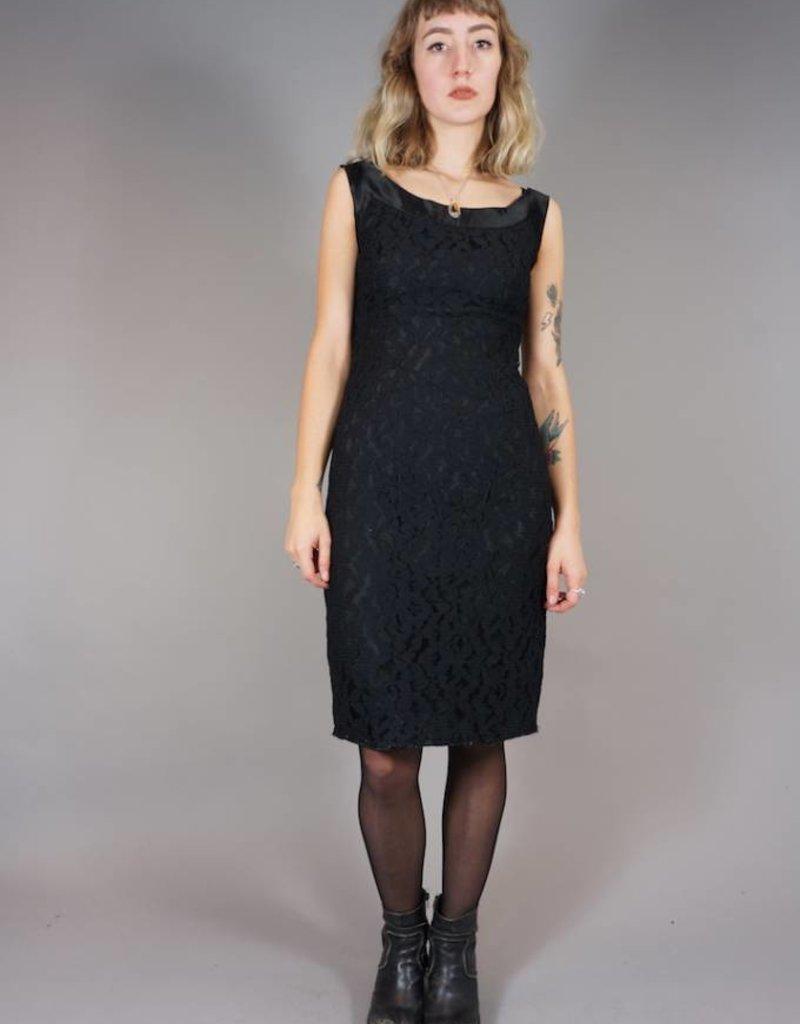 50's Off-Shoulder Lace Dress Ellen