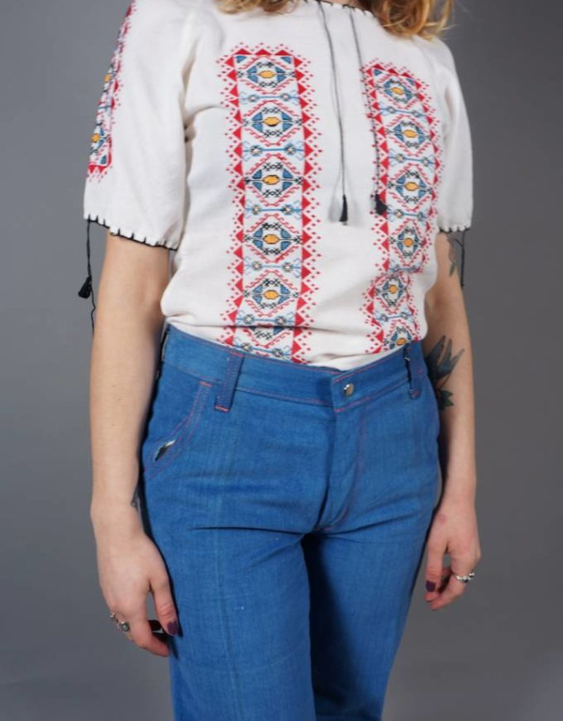 Penny Lane Embroidery Blouse