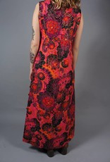 70s Psychedelic Maxi Dress Jane