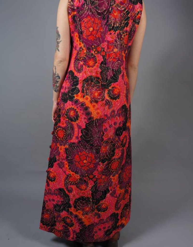 70s Psychedelic Maxi Jurk Jane