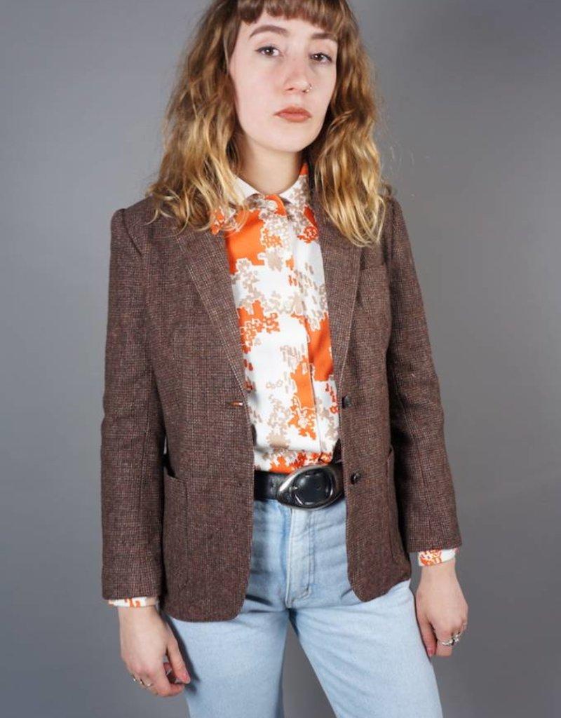 70s Tweed Jacket Lori