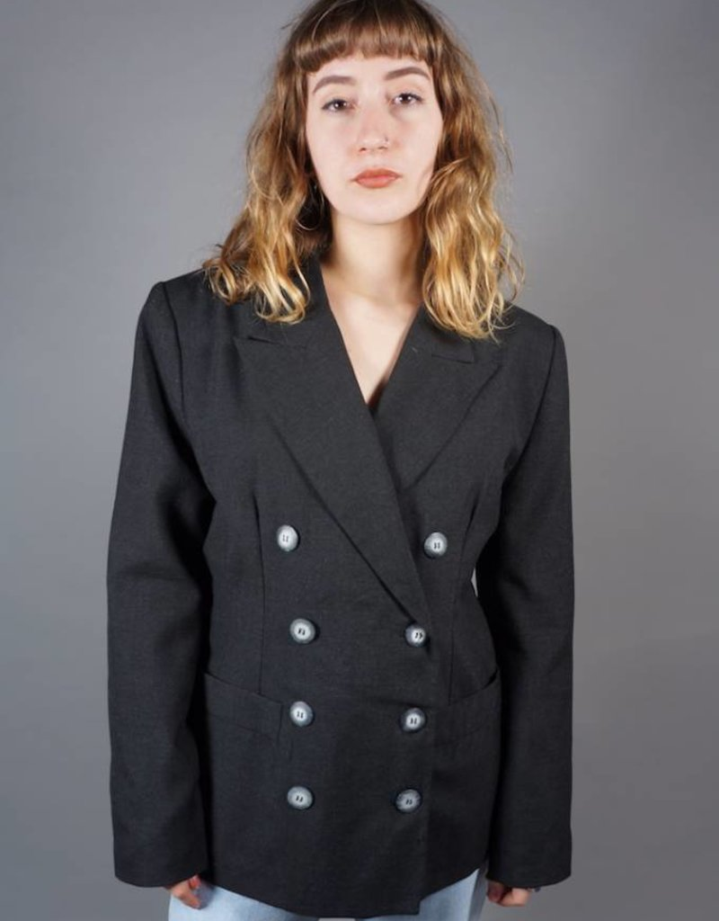 80s Double-Breasted Jacket Linda