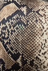 Slangenprint Jumpsuit met Capuchon
