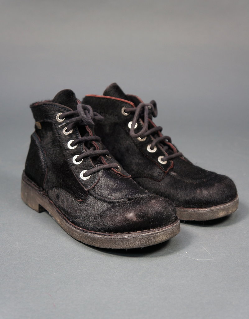 Kickers Hairy Lace Shoes
