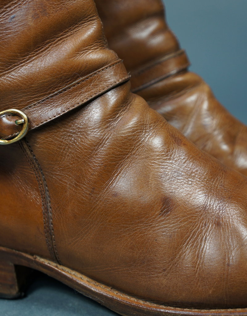 60s Ankle Buckle Boots