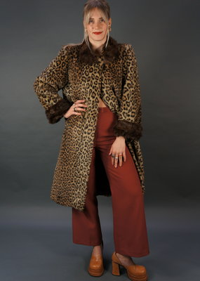 Valentino 70s Leopard Coat