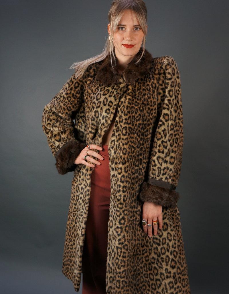 Valentino 70s Leopard Jas