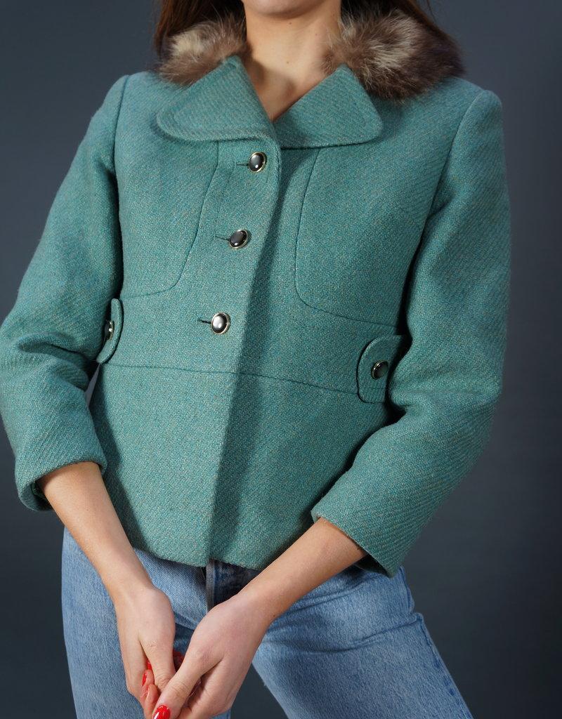 70s Wollen Jacket Sandra