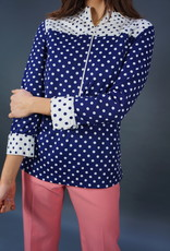 60s Polkadot Top