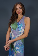 70s Psychedelic Maxi Jurk