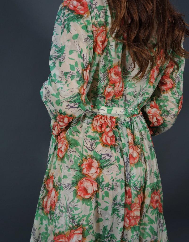 70s Psychedelic Maxi Dress - Copy
