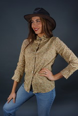 Cacharel Floral Blouse