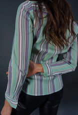 Cacharel Stripe Blouse