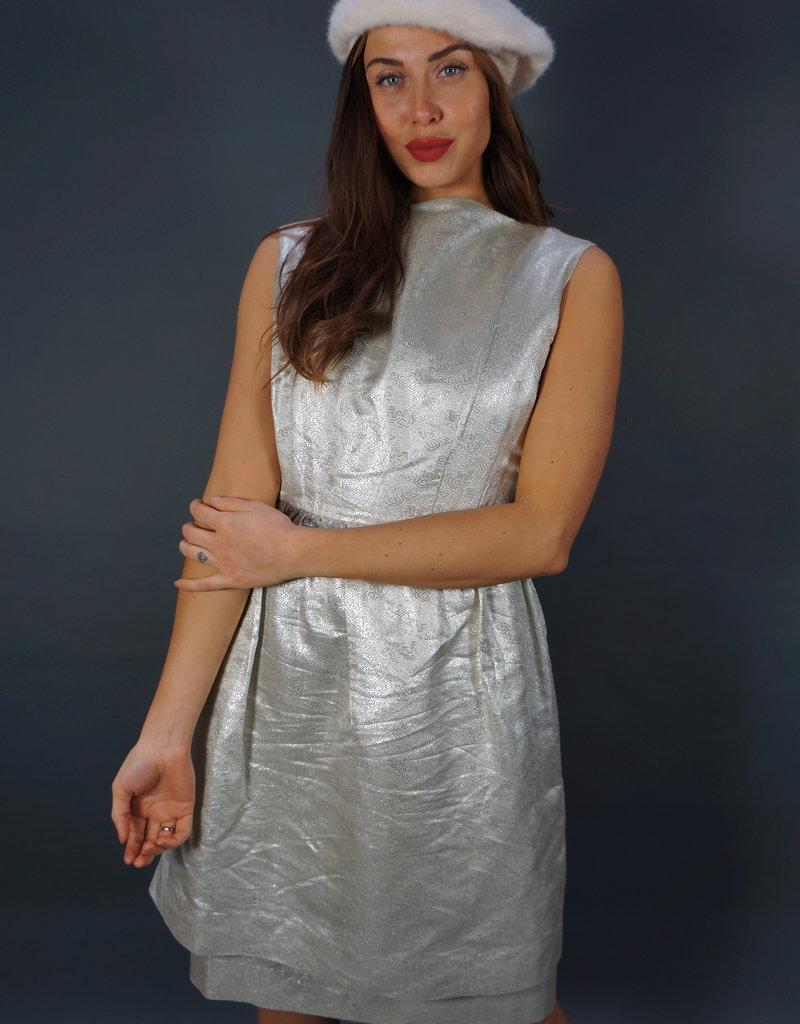 50s Silver Dress