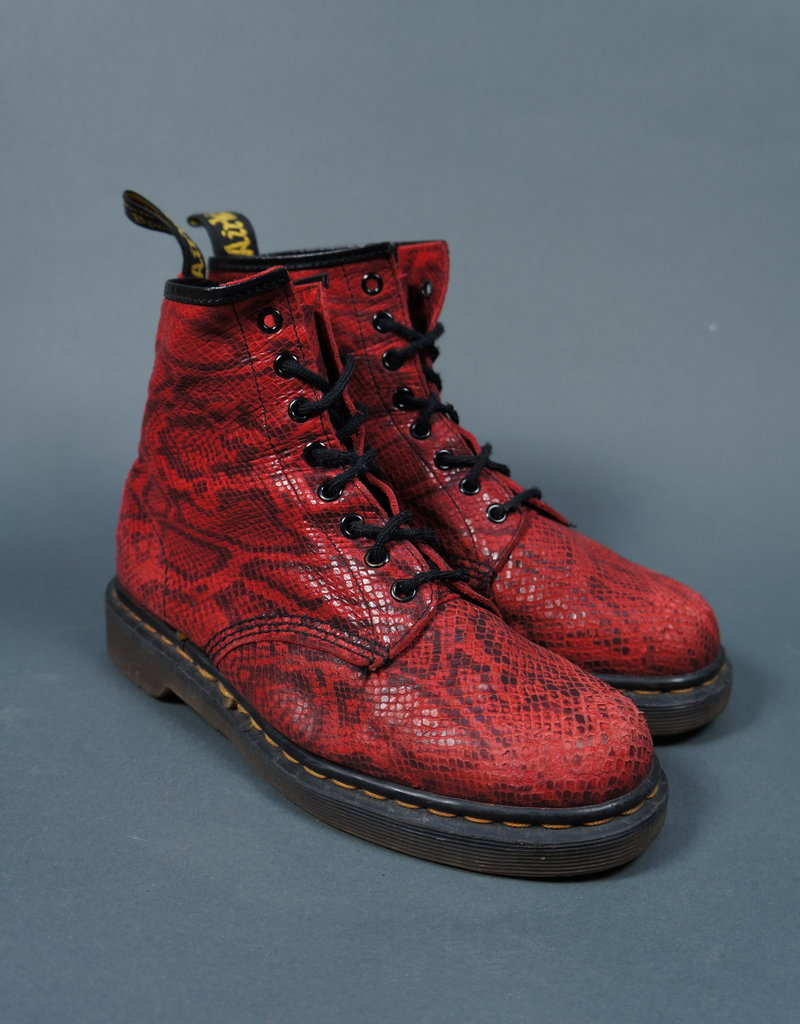 Dr. Martens Red Reptile