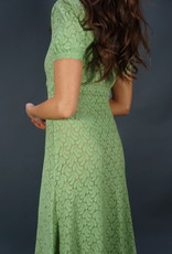 50s Lace Maxi Dress