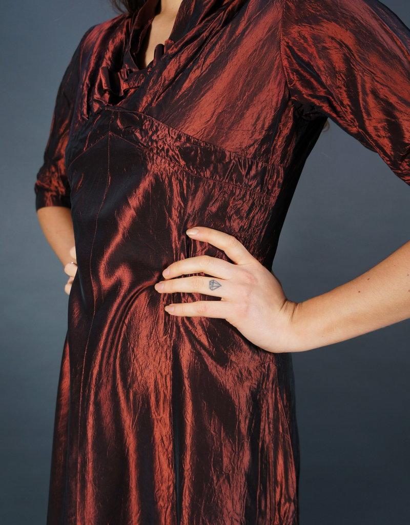 50s Metallic Dress