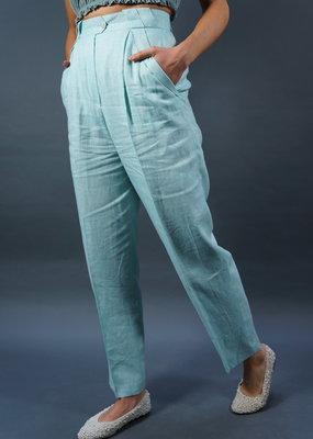 Escada Linen Pants