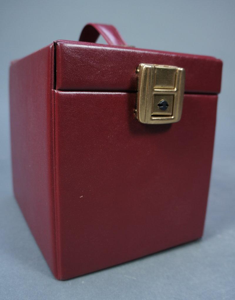Leather Beautycase Wine