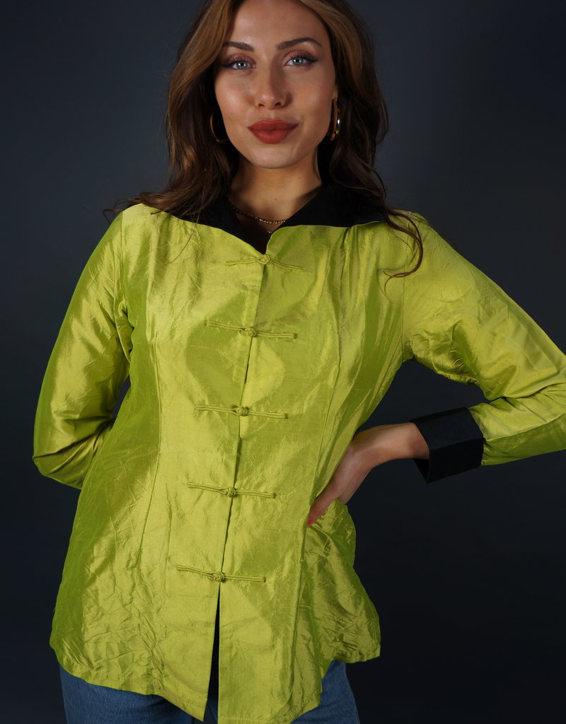 Silk Blouse Oriental