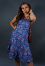 60s Flower Dress