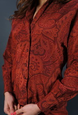Escada Silk Paisley Blouse