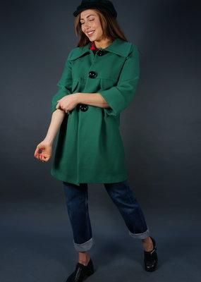 Piu Piu Virgin Wool Coat