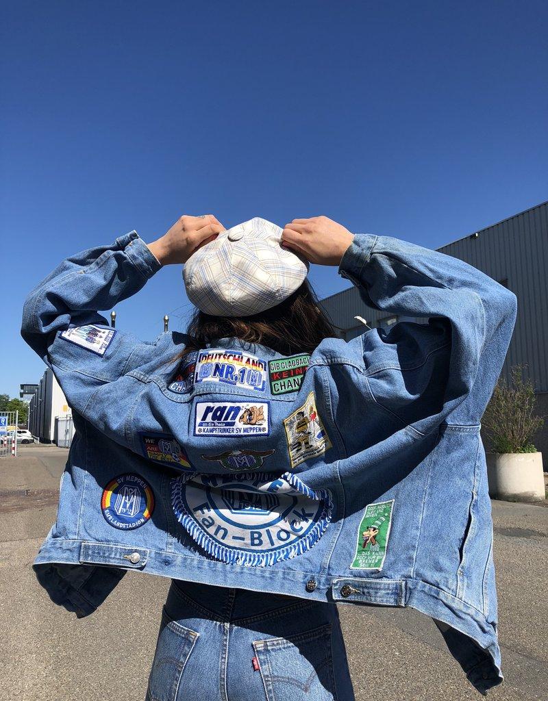 90s Patch Jeans Jacket