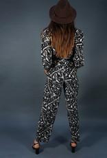 Escada Silk Swinging Music Suit