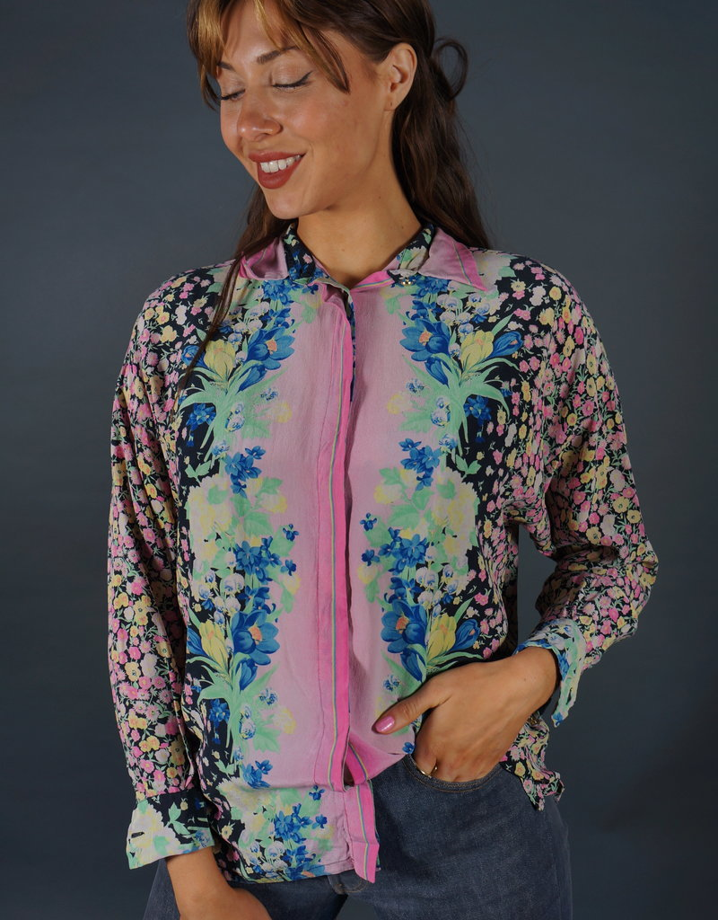 Silk Blouse Iris