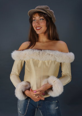 Silk Max Chaoul Couture Bustier