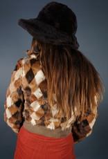70s Fur Patch Jacket