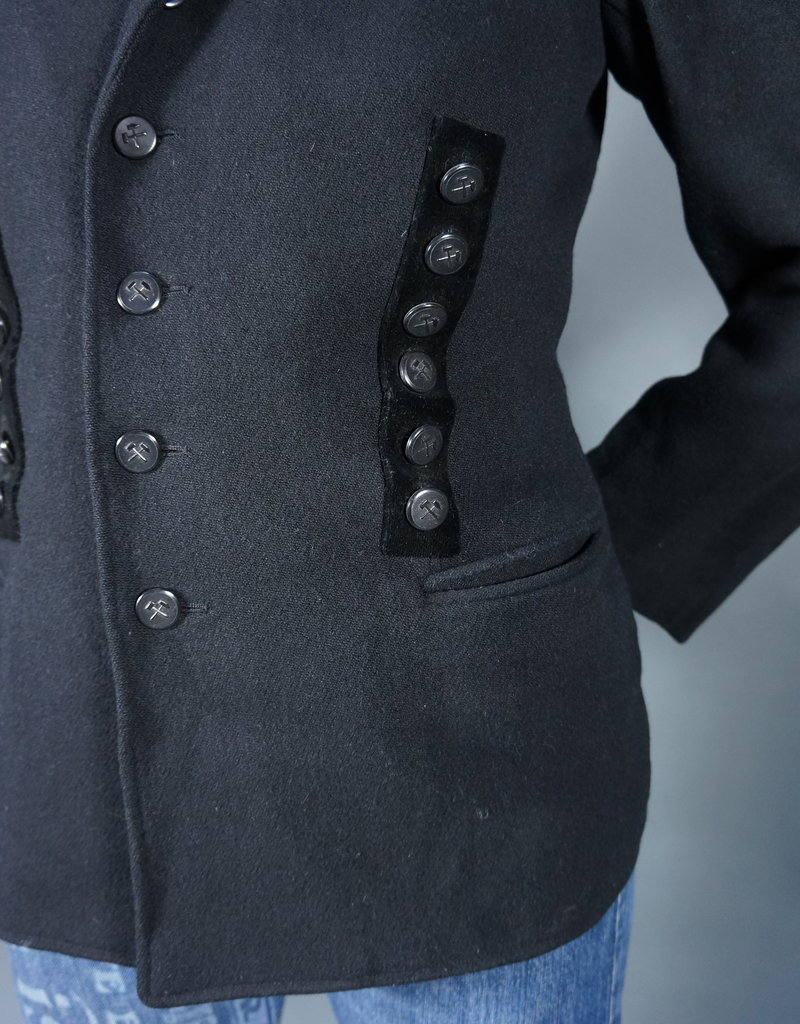 50s Officer Jacket with Pins