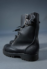 90s Leather Army Boots