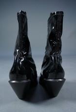 90s Vinyl Cowboy Boots